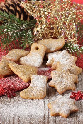 Weihnachtskekse gebacken im Urlaub