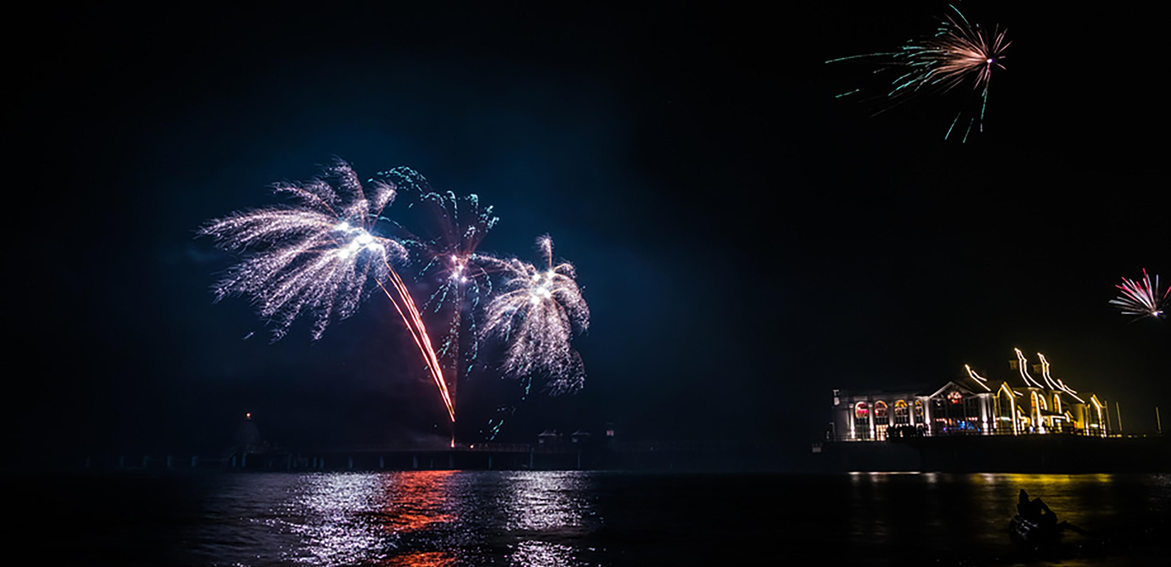Sylvesterveranstaltungen 2014 an der Ostsee