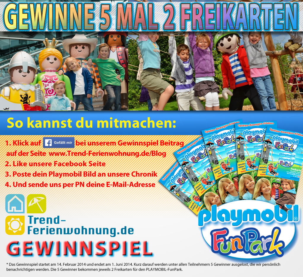 Gewinnspiel Playmobil FunPark