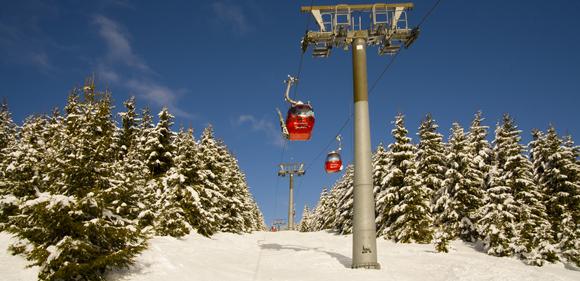 Skilift am Wurmberg im Harz