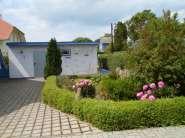 """Ostsee-Ferienhaus """"Boddenfisch"""" in Wieck Aussenansicht"""