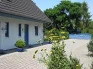 """Ostsee-Ferienhaus """"Boddenfisch"""" in Wieck Innenansicht"""