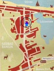Ferienwohnung Bansin/Usedom, inklusive Strandkorb in Bansin