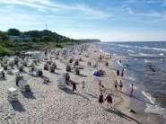 Ferienwohnung Bansin/Usedom, inklusive Strandkorb in Bansin Urlaubsumgebung vor Ort