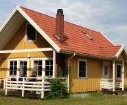 Schwedenhaus Seeblick am Useriner See in Userin Aussenansicht