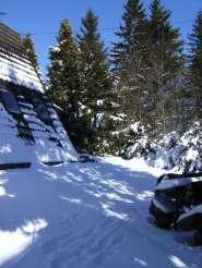Günnis Hütte, mit Außen-Whirlpool, komplett eingez in Kerschenbach Aussenansicht