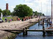 Das Lotsenhaus Travemünde in Lübeck Urlaubsumgebung vor Ort